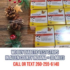 Sell Diabetic Test Strips Fort Wayne